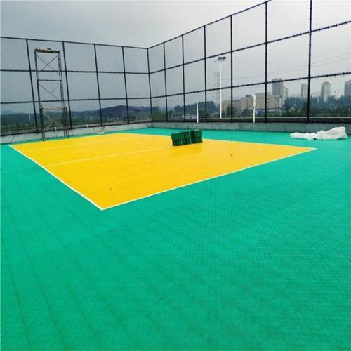 徐州拼裝式籃球場地板品質保證