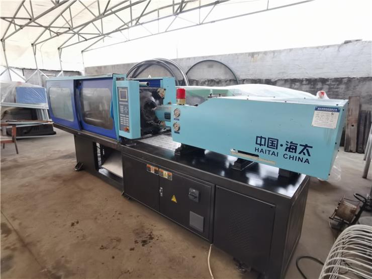 出售宁波海太110吨注塑机一台,注射容量160克