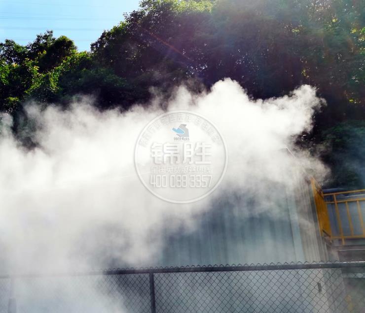 江西工業廠房噴霧除臭,江西錦勝霧森供應