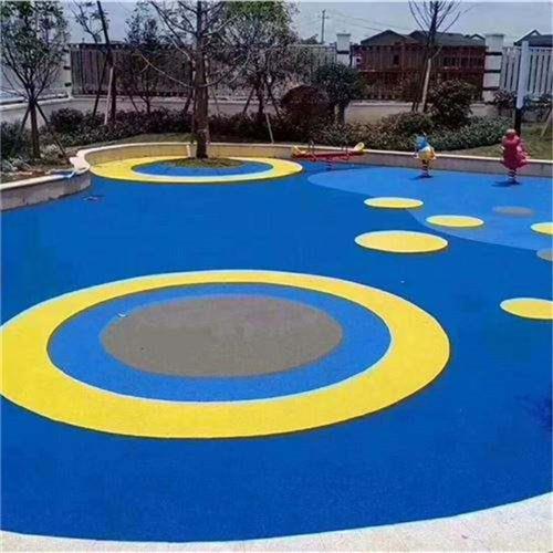 安徽防滑吕梁幼儿园epdm塑胶地面可定制尺寸规格