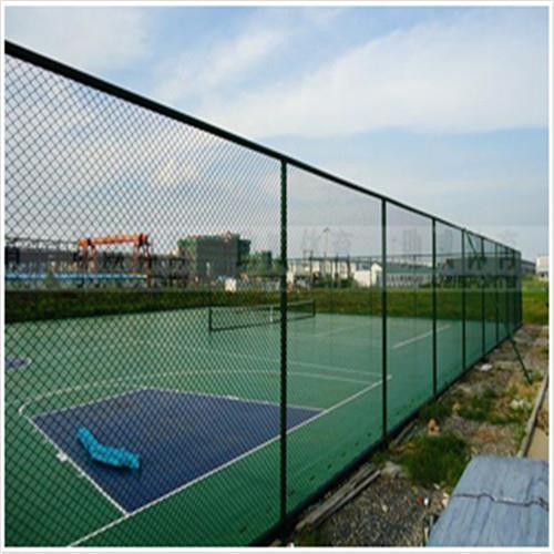 桥西区达创体育游乐场草绿色足球场场地围网各地发货