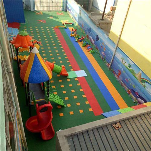 西城區達創體育器材廣場防滑室外拼裝式地板產地貨源