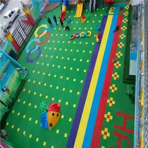 西城區達創體育器材廣場新國標防滑耐磨懸浮地板加工定制