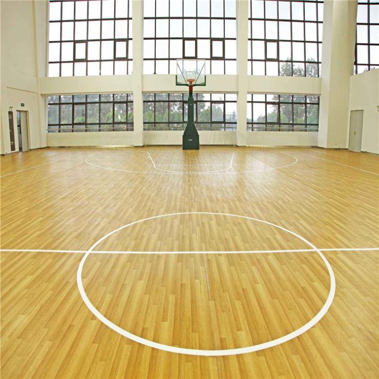 達創體育器材籃球場PVC地膠pvc地膠板規格