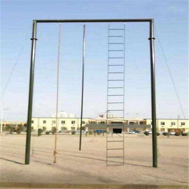 临沧 训练攀登架 部队组合四联体适能器材 厂家