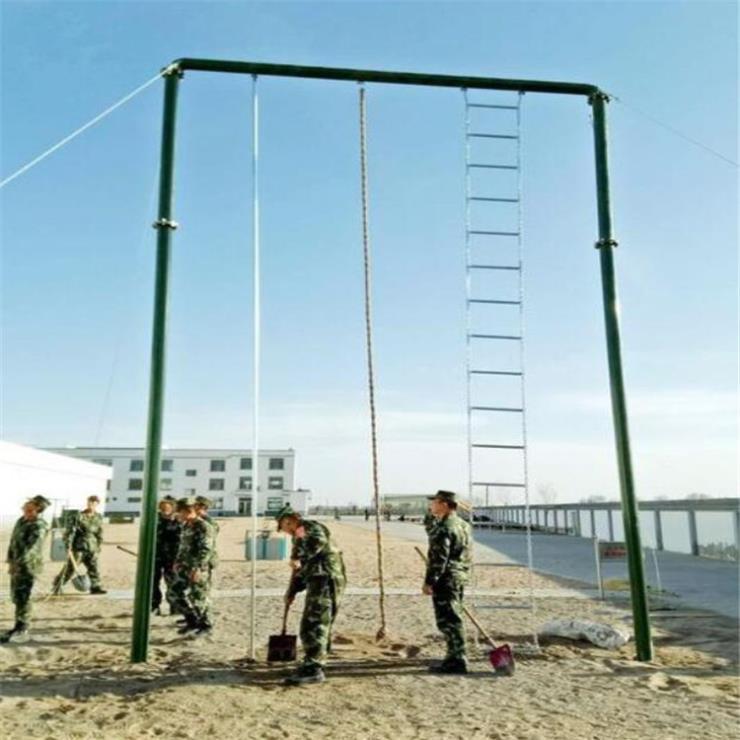 训练攀登架 部队组合四联体适能器材 现货供应