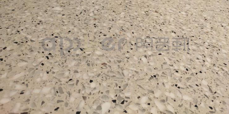 南京阿普勒新型水磨石地坪的几种用法