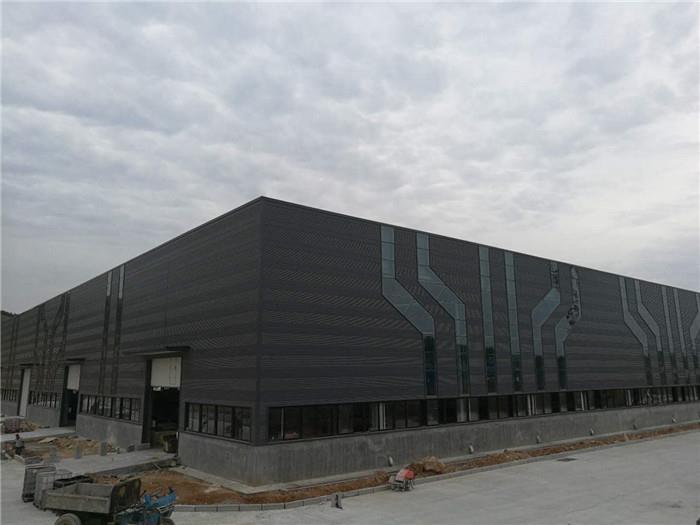 鋼結構廠房施工,山東鋼結構公司,三維鋼構