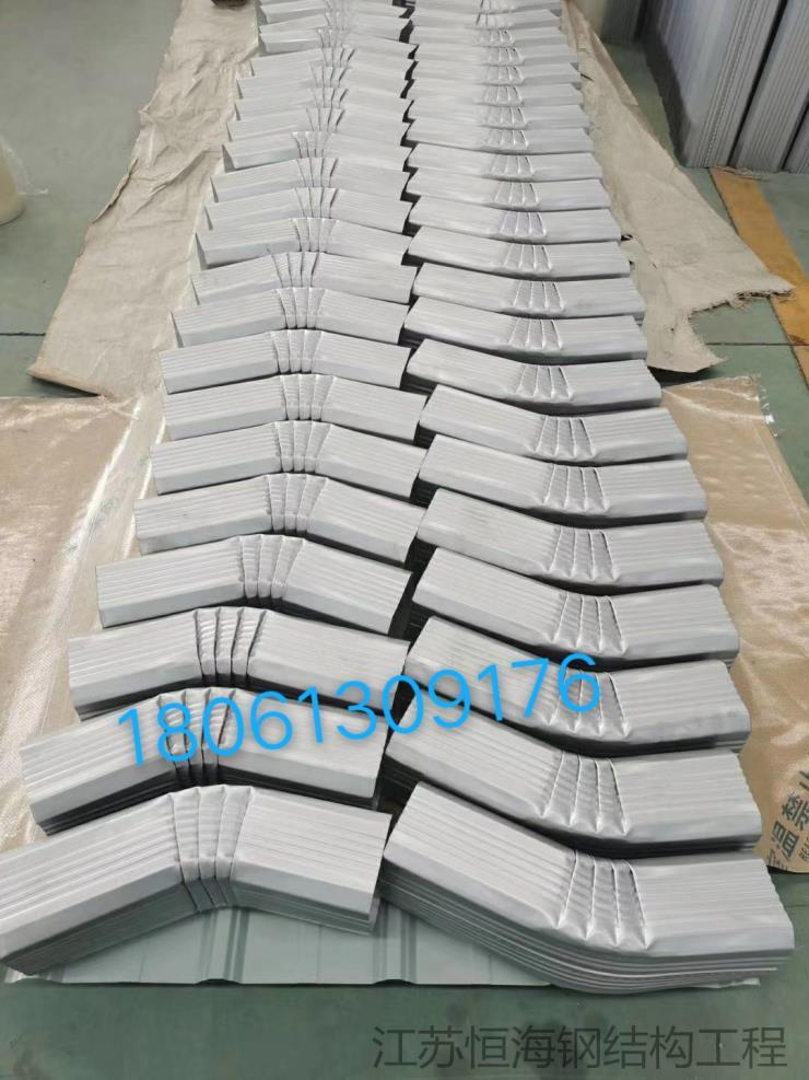 吉安永新鋼制落水管144*108型定制加工