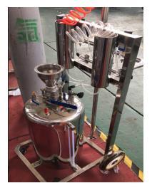 移动式核放射洗消器-喷射洗消作业