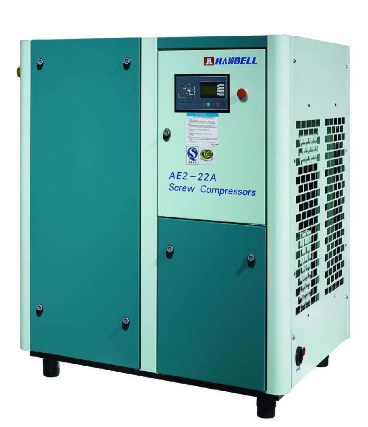 漢鐘噴油螺桿空氣壓縮機一體機 免費安裝空壓機