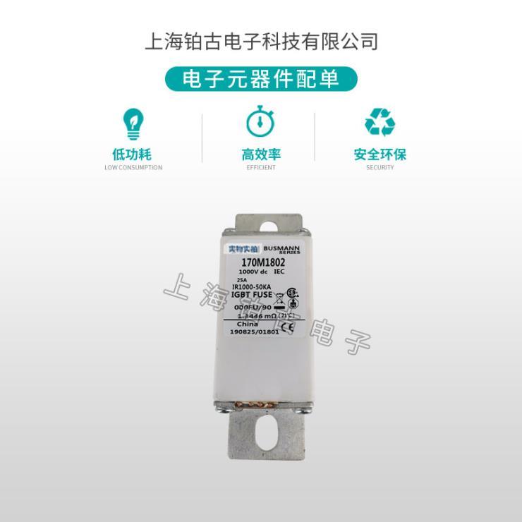 全新销售170M1802巴斯曼快速熔断器