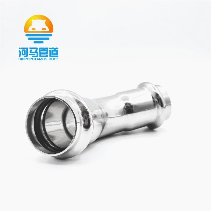 广东河马管件批发45度弯头90度弯头工厂批发直销