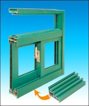 江阴恒驰销售各种规格门窗幕墙铝型材