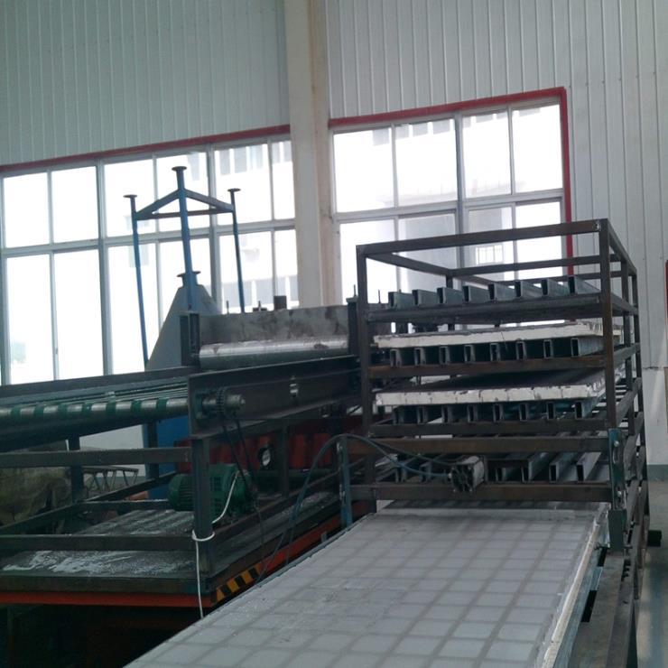 厂家定制玻璃棉板制板机 保温板生产线 防火阻燃