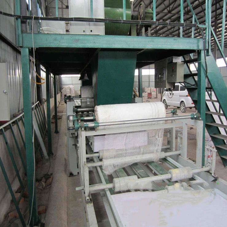 全自动防火门芯板生产设备 仿红榉板制板机 设备厂家