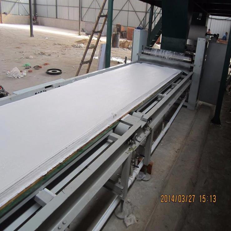 晨宏制板机设备 工程板材防火板材生产线 上门安装