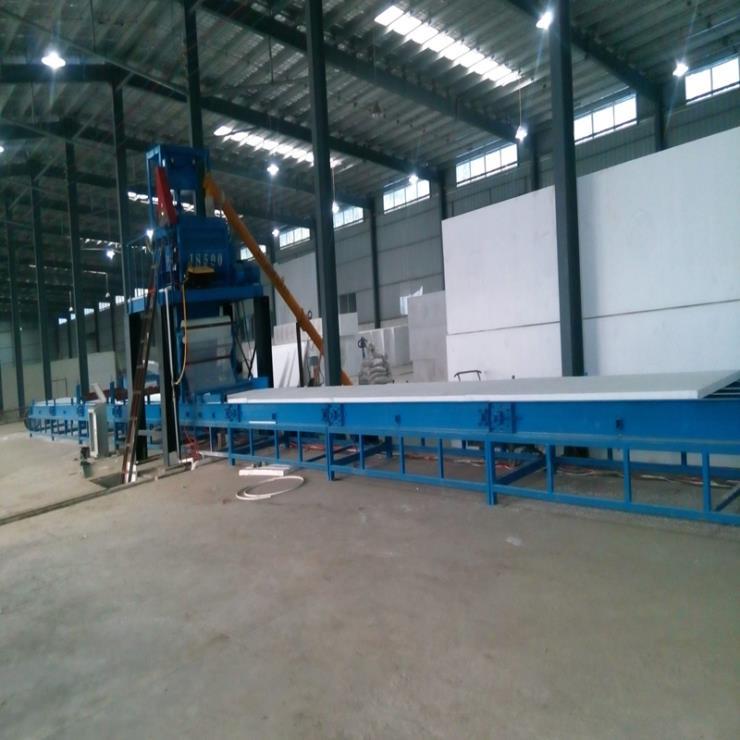 厂家供应 防火门芯板制板机 氧化镁防火板生产线