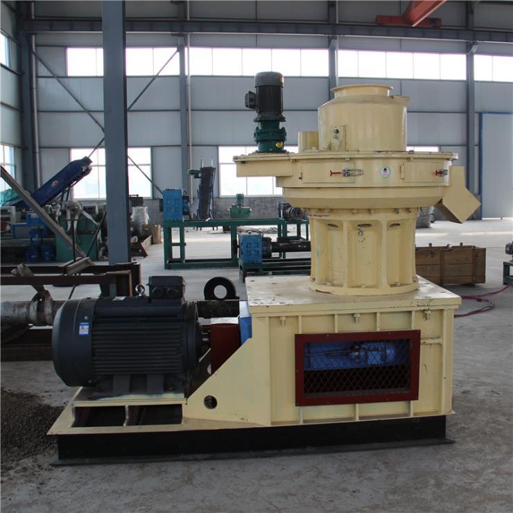 竹木炭饲料颗粒机 时产1-3吨秸秆颗粒机安全高效