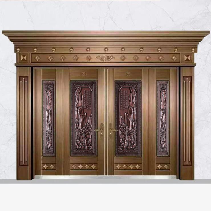熔銅板裝飾門花浮雕板立體仿銅板