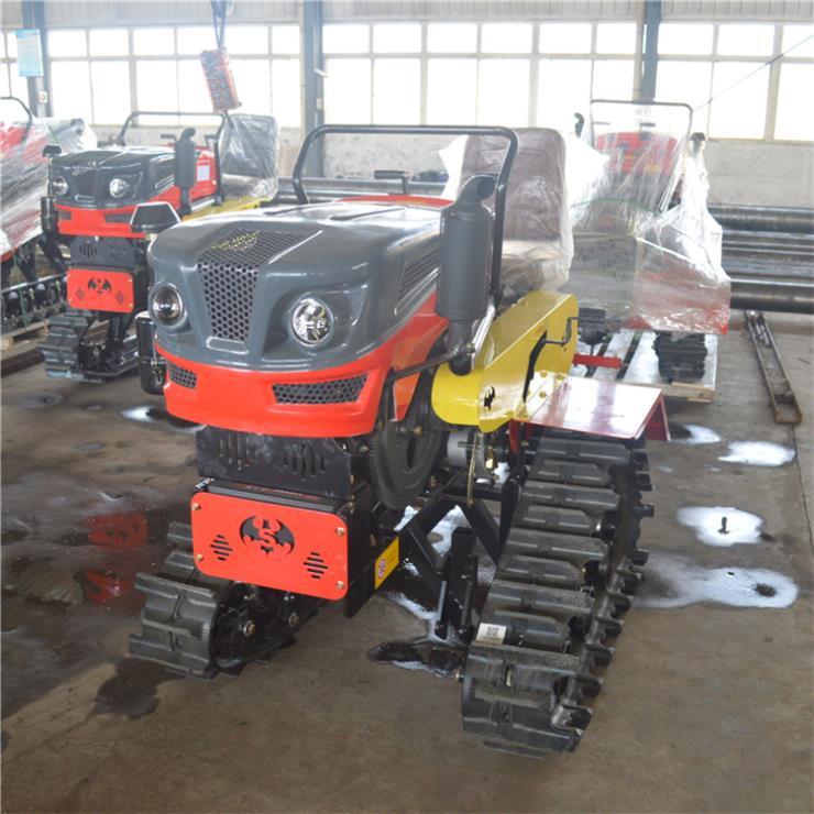 25马力旋耕机 水旱两用履带式旋耕机 水田旋耕机
