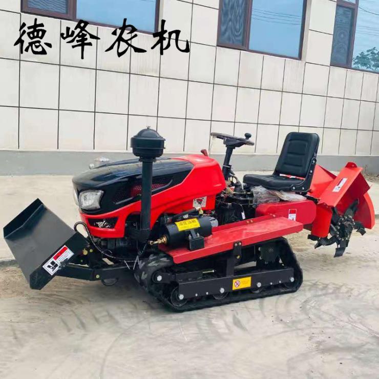 厂家直供履带式旋耕机 多功能履带式 微耕机