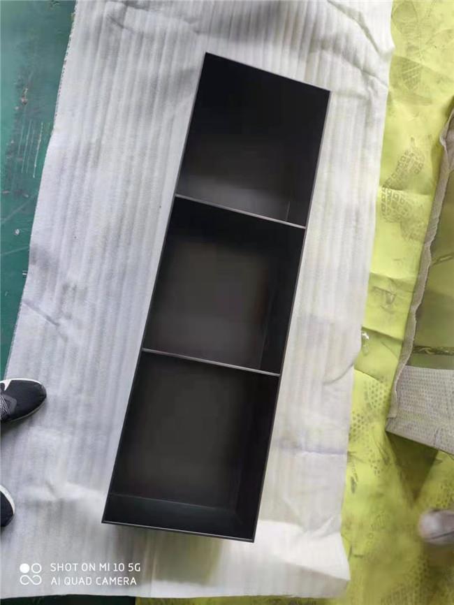 拉丝黑钛不锈钢壁龛,电视墙装饰不锈钢壁柜