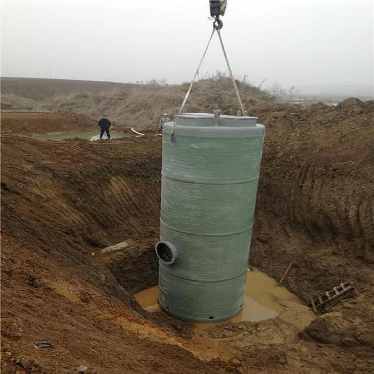 大连酒店污水提升泵站WSSW3.5*9.8/11-II一体化预制泵站售后服务一条龙