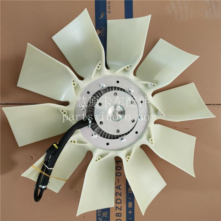 1308060-H01V0东风天龙电子硅油风扇离合器带风扇总成