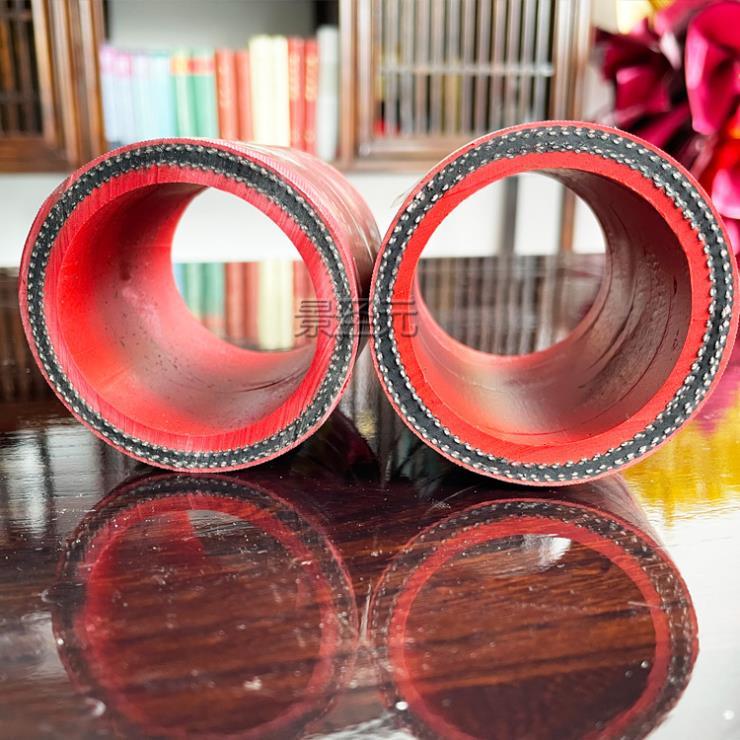 天津无碳胶管总成中频炉输温水绝缘胶管耐高压胶管