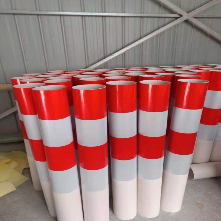 玻璃钢警示桩电力pvc警示桩光缆燃气标示管道地埋标识柱