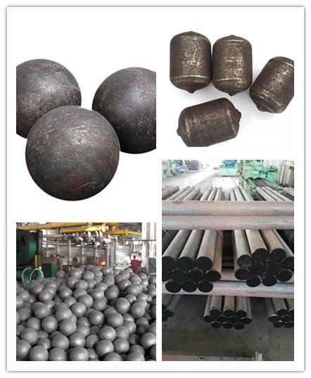 选矿厂粉碎专用耐研磨钢球