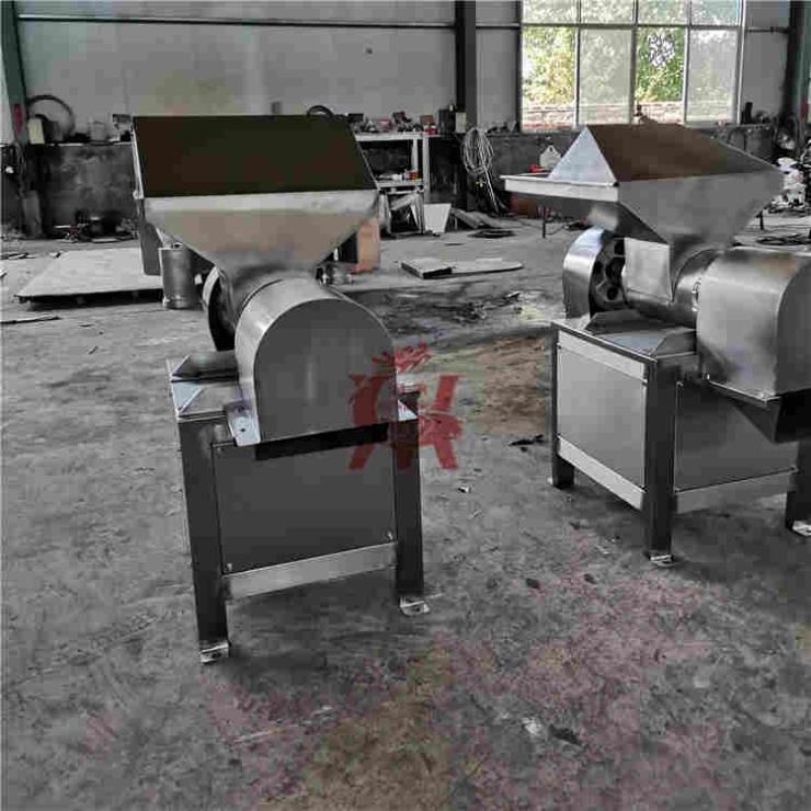 辣椒不锈钢粗碎机 辣椒酱电动打椒机润鼎机械
