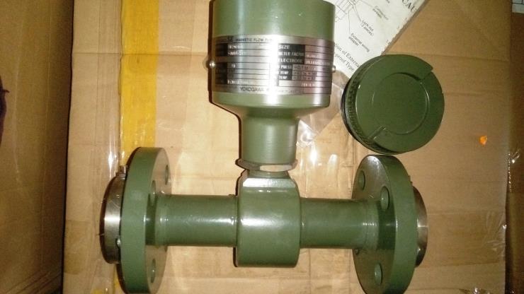 横河流量计 磁流量在工业生产线以及供水