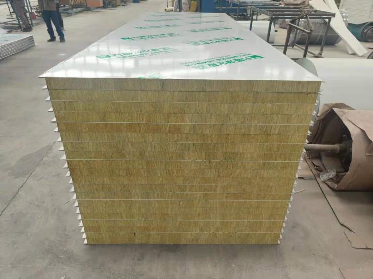 岩棉净化板,岩棉夹心彩钢复合板