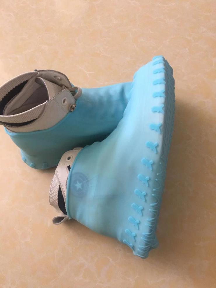 硅膠戶外耐磨防水鞋套便攜式可隨身攜帶硅膠耐磨鞋套