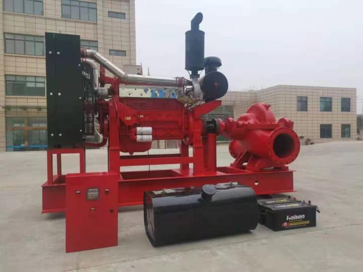 XBC消防应急备用泵全自动柴油机消防泵