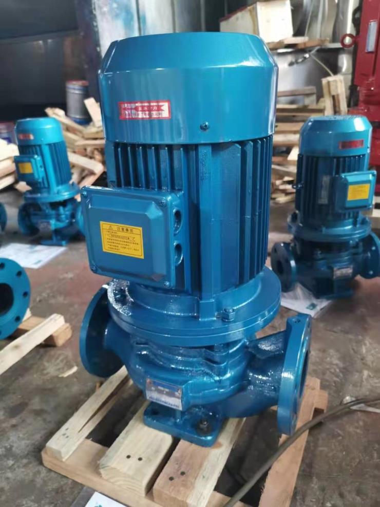 ISD/ISW排污管循环泵立式管道离心泵热水泵空调泵