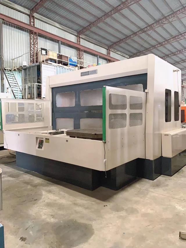 出售二手东芝1250双工位卧式加工中心 型号BMC100E