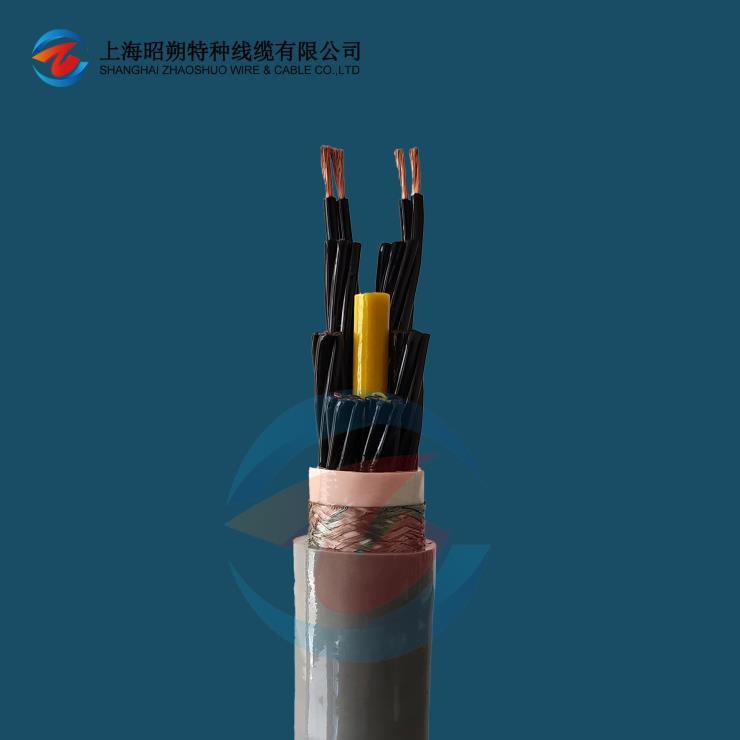 中速移動專用耐彎折拖鏈電纜 ZOSH-MFLEX-800