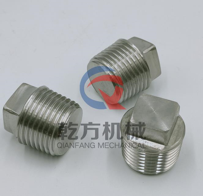 304 316L不锈钢管帽 定做2205 2507材质管帽 堵头 管塞
