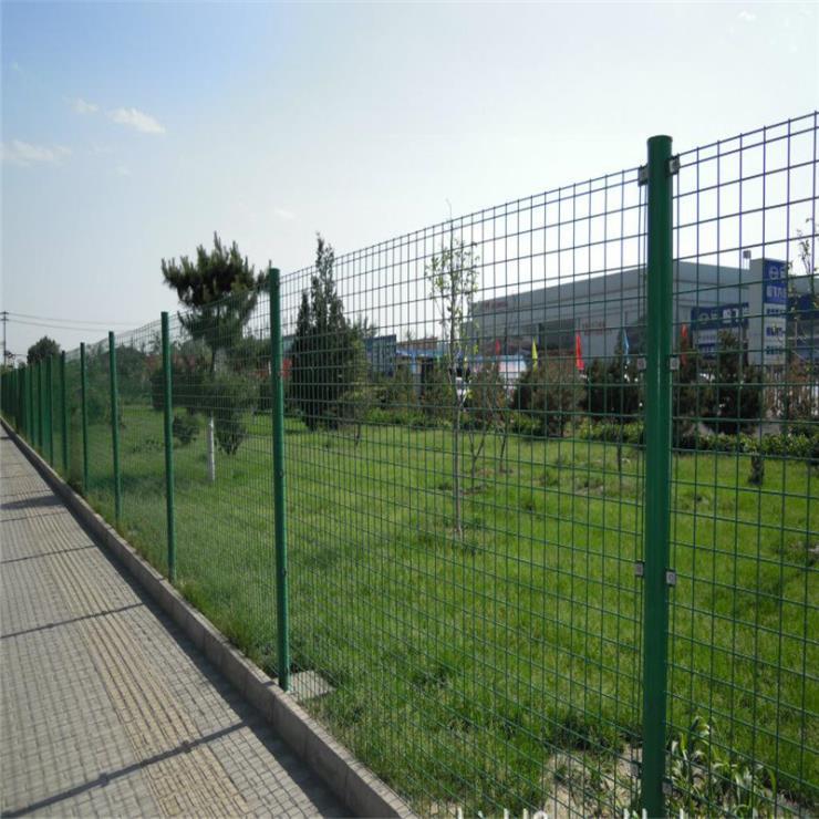 吉安市双边丝护栏网 峡江县果园双边丝护栏网