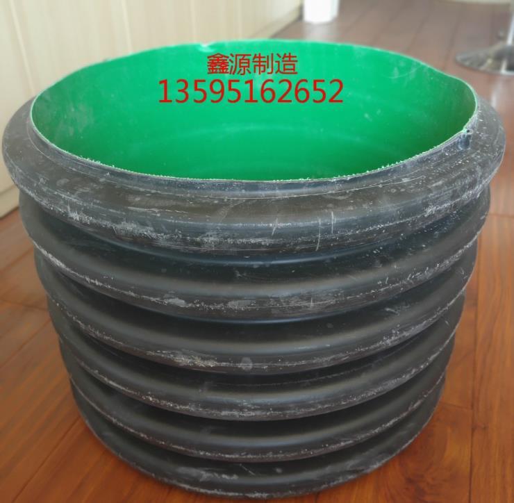 贵州省PE双壁波纹管数鑫源管道十年生产企业PE双臂波纹管